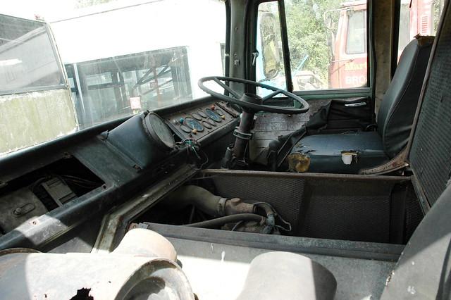 ERF A series tractor unit cab interior