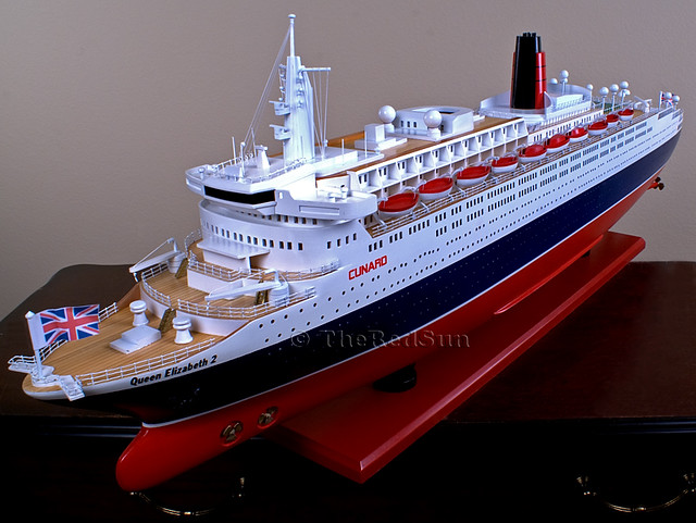 ShipQueenElizabethII N Scale Cruise Ship   Other boats I was…   Flickr