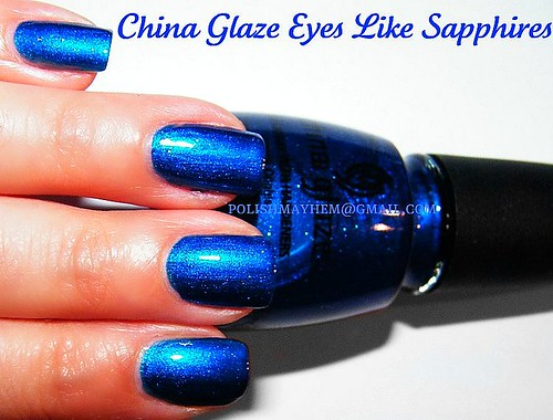 China Glaze Eyes Like Sapphires