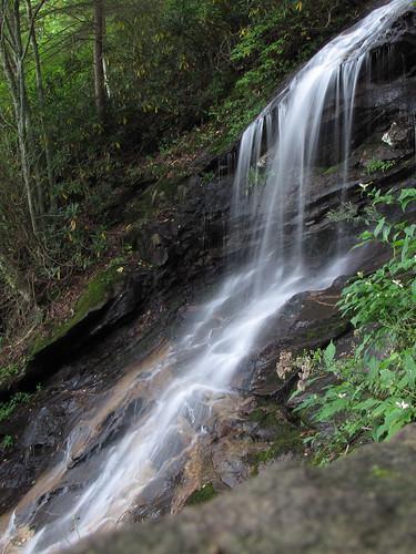 summer waterfall northcarolina september cascades blueridgeparkway westernnorthcarolina jeffresspark southernappalachians ccbyncsa canonpowershotsx10is
