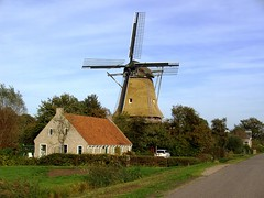 The restoration of the windmill