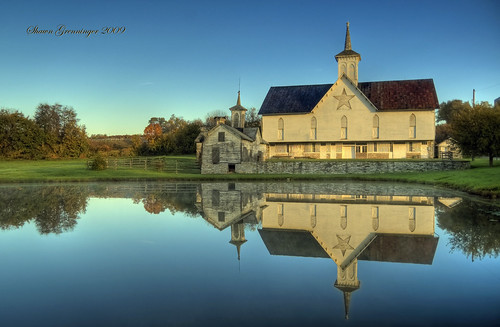 morning light sunlight reflection barn rural star pond nikon pennsylvania landmark pa middletown soe outbuildings starbarn nationalhistoriclandmark nationalregisterofhistoricplaces impressedbeauty superaplus aplusphoto built1872 thechallengefactory thestarbarn starbarncomplex