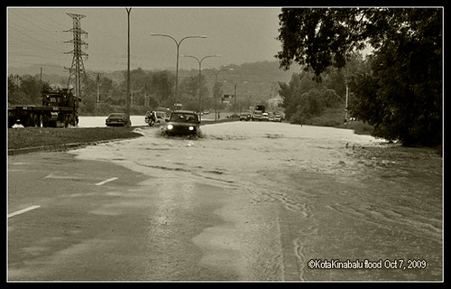 kota kinabalu flood