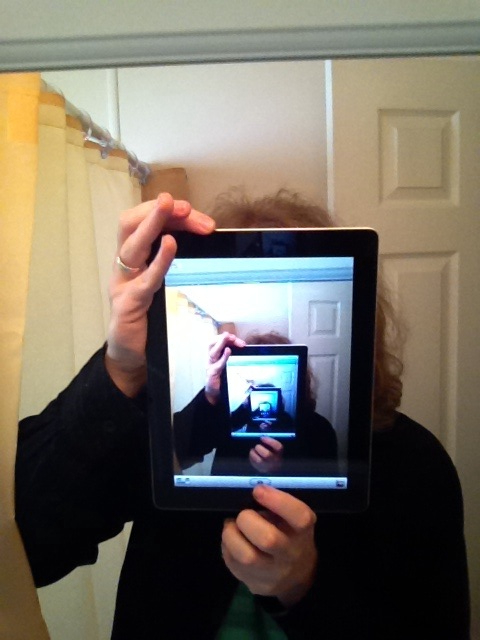 ipad mirror photo