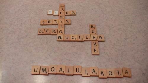 Abstract Scrabble, second half
