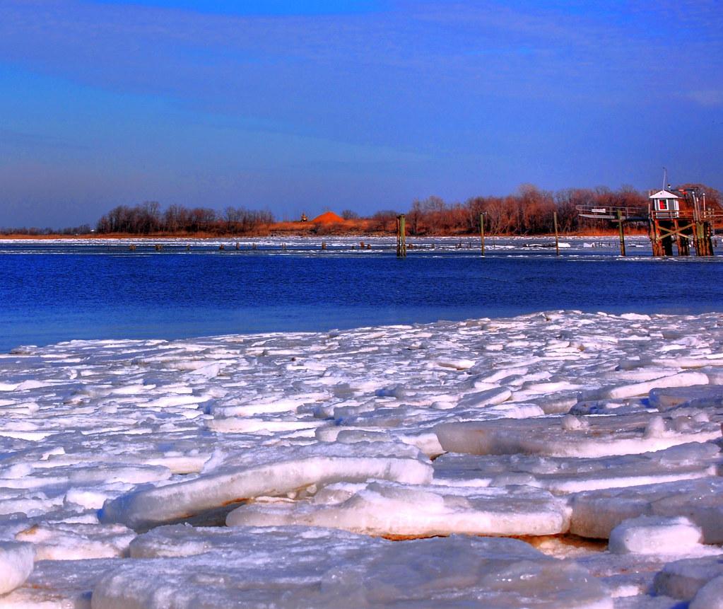 Keyport NJ ....... Icy Harbor by Scott Hudson *