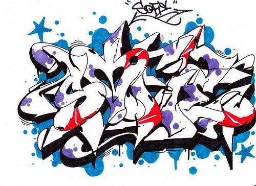 Graffiti Drawing