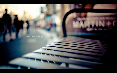 park retail 35mm shopping bench nikon glendale americana f2 brand d3 35mmf2af americanaatbrand