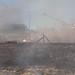 Arvada Fire along railroad