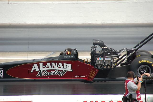 Larry Dixon Al Anabi Ajr Top Fuel Dragster Larry Dixon