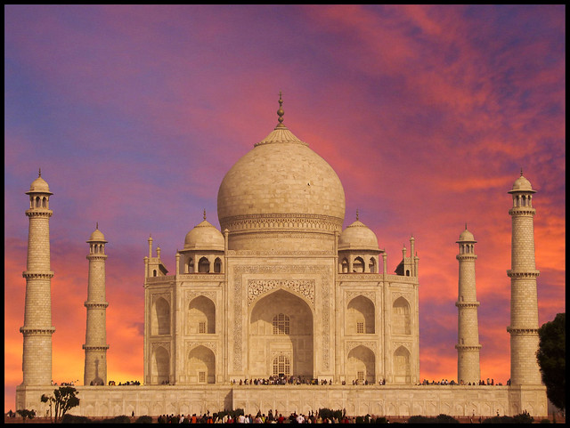 Monument Of Love - Taj Mahal.. Photoshopped ...EXPLORED ...