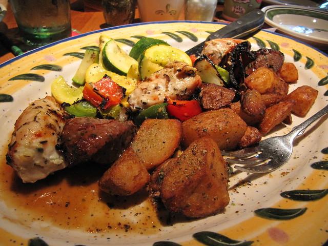 Olive Garden Gluten Free Menu Mixed Grill Platter Flickr Photo Sharing