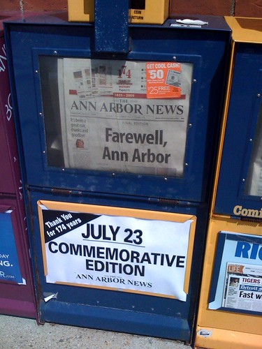 Ann Arbor News – final edition