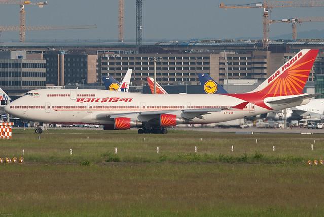 Air India एर इंडिया Boeing 747-437 VT-EVA Agra आगरा (31204) by Thomas Becker
