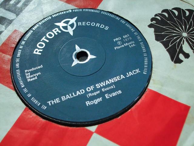 Roger Evans - The Ballad of Swansea Jack