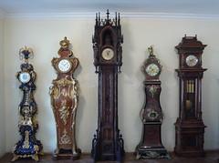 furniture, wood, longcase clock, antique, clock,