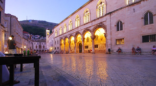 Rectors Palace from Cafe, Dubrovnik