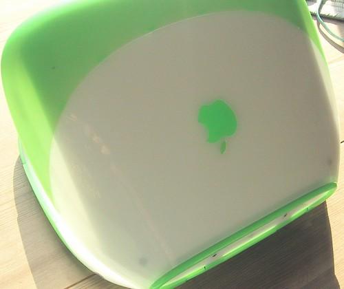  iBook G3 SE Clamshell Key Lime