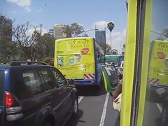Video: taking Bus 46 into town