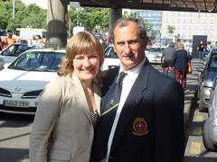 Con Gustavo Zervino