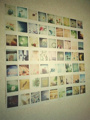 *polaroid wall*