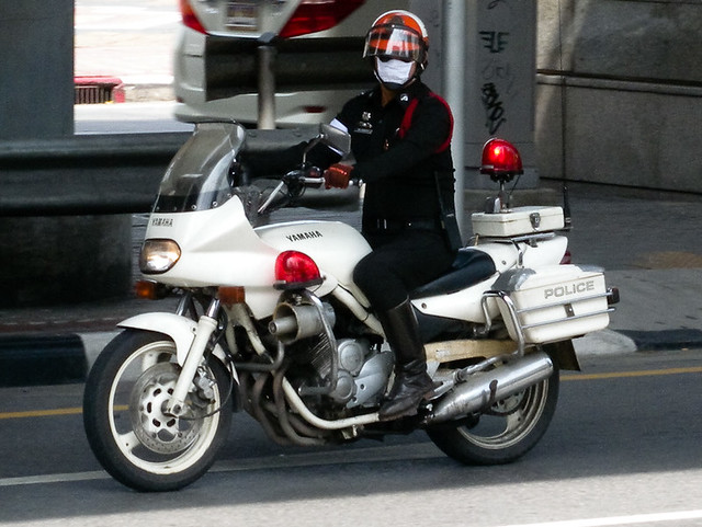 Yamaha Police Escort Motorcycle Flickr Photo Sharing
