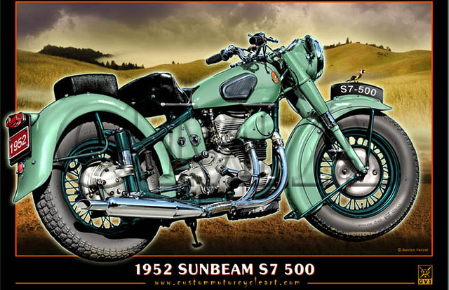 1952 Sunbeam S7 500