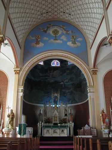 church texas altar catholicchurch shiner lavacacounty eccepanisangelorum saintscyrilandmethodiuscatholicchurch mlhradio