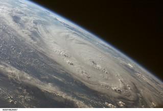 Hurricane Felix (NASA, International Space Station Science, 09/03/07)