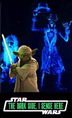 Star Wars vs Haunted Mansion