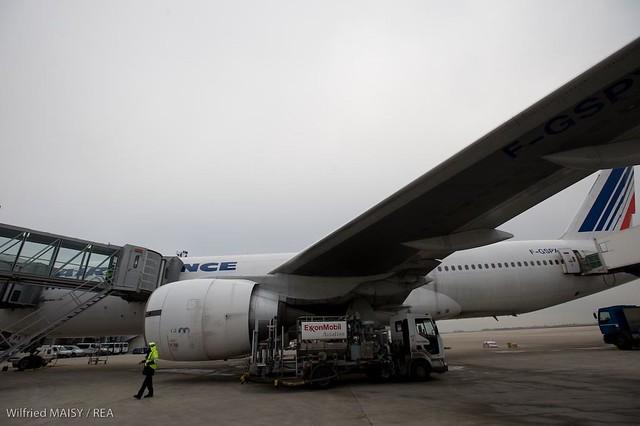 Manutention a l'aeroport Roissy Charles de Gaulle