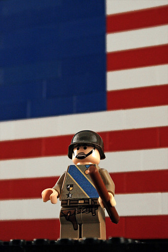 Lego Patton - close up