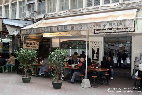 マーガレット カフェ エ ナタの概観 - マカオ エッグタルト