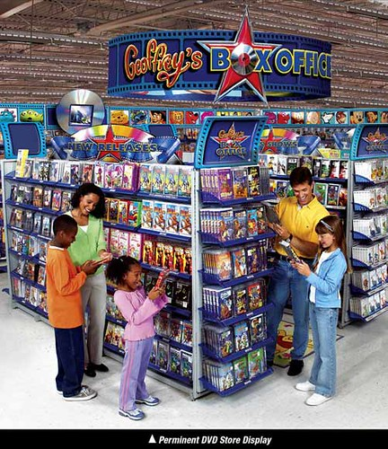 Toys Quot R Quot Us Dvd Display Toys Quot R Quot Us Dvd Display Produced