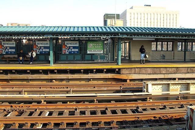 161st Street�13Yankee Stadium (New York City Subway)
