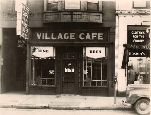 county street ohio beer st bar cafe exterior village wine market east 1940s oh warren trumbull