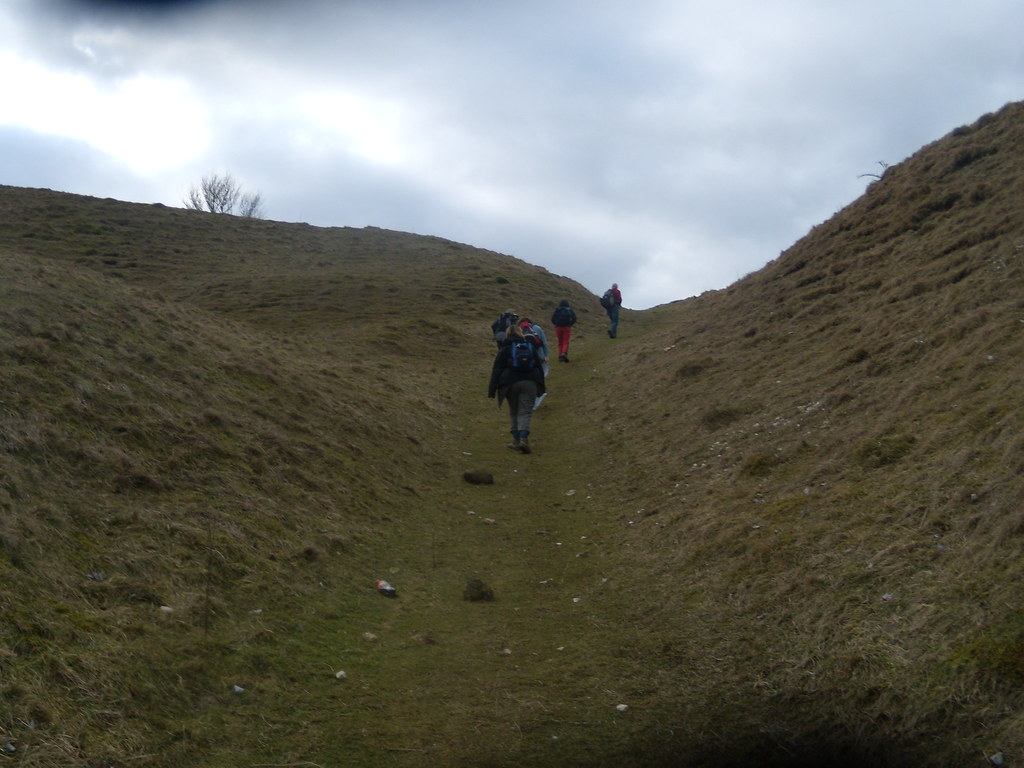 Nearly there Careful with my stuff you Sherpas. Amberley Circular