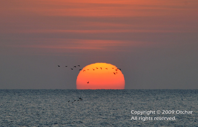 Sunrise at Peninsula Notsuke