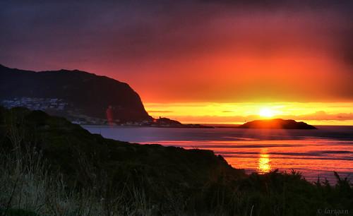 sunset sea godøy anawesomeshot larigan valderøyfjord phamilton licensedwithgettyimages