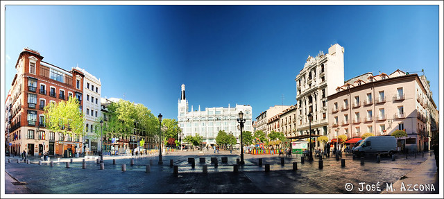 Madrid. Plaza de Santa Ana.
