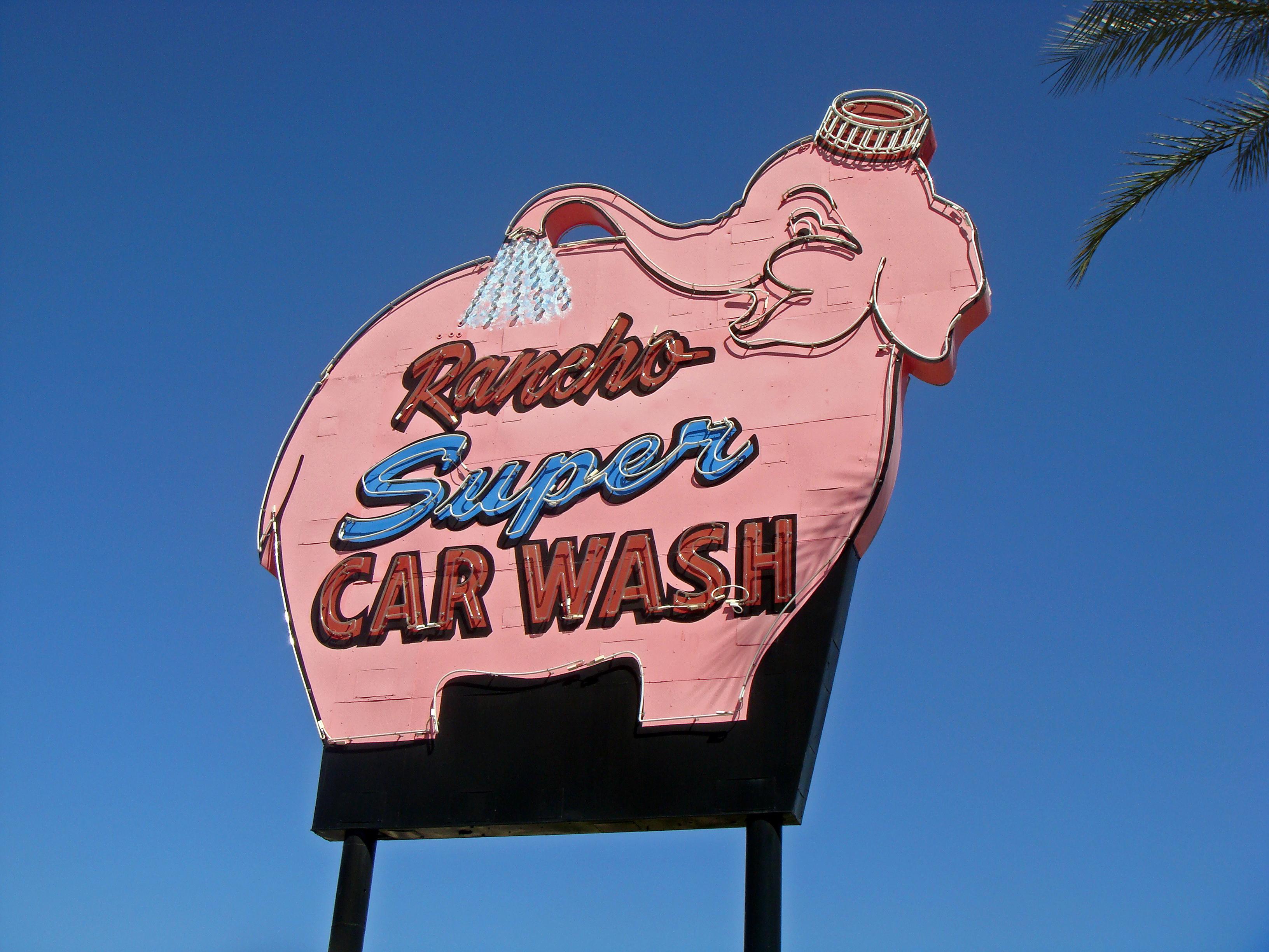 02b Rancho Mirage - Rancho Super Car Wash (E)
