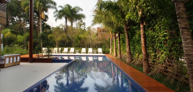 Guia decorar dicas para paisagismo no ambiente da piscina - Guia para decorar ...
