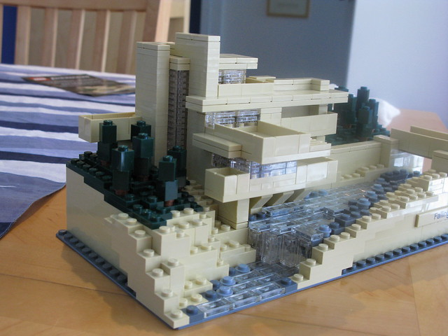 Lego fallingwater flickr photo sharing - Lego falling waters ...