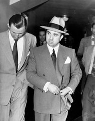 Mickey Cohen headed to court, 1951. Courtesy LAPL, Herald Examiner collection_2