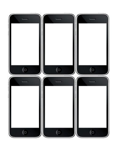 iphone storyboard template