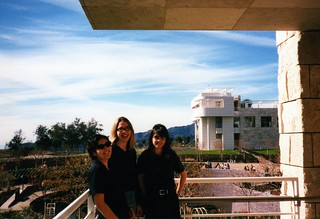Opening Weekend at the Getty - 1997