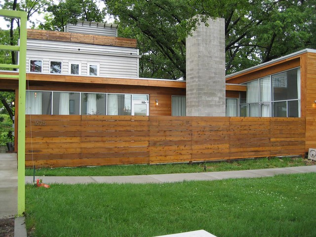 Privacy Fence For Front Of House Flickr Photo Sharing