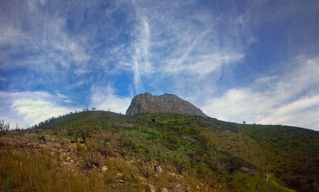 Devils Peak on Sunday morning