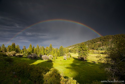 utah double rainbows...