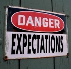 Danger Expectations Ahead